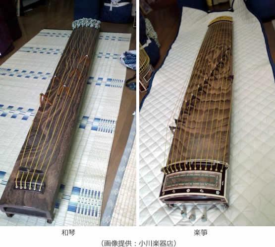 和琴 楽箏